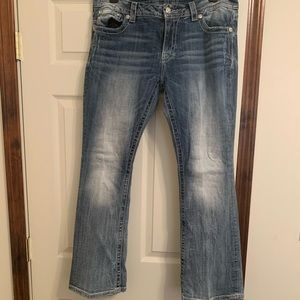 Miss Me Distressed Boot cut jeans